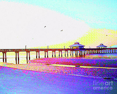 Surf Lifestyle Mixed Media - Painted Dawn Breaking by Chris Andruskiewicz