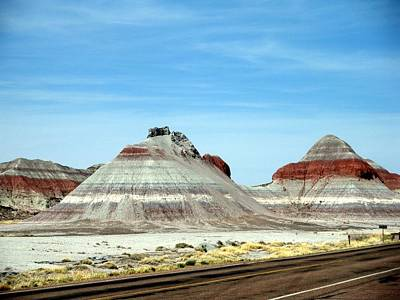 Painted Desert 2 Art Print by Jeanette Oberholtzer
