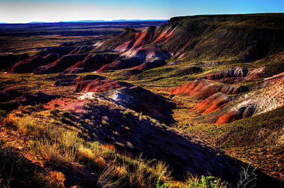 Photograph - Painted Desert From Nizhoni Point by Roger Passman