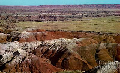 Painted Desert In Arizona Art Print by Ruth  Housley