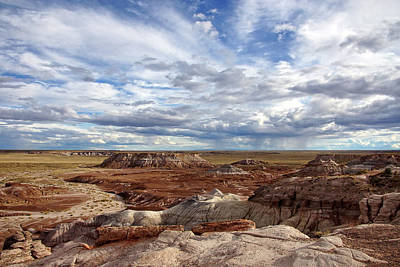 Photograph - Painted Desert Majesty by Leda Robertson