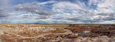 Photograph - Painted Desert Majesty Panorama by Leda Robertson