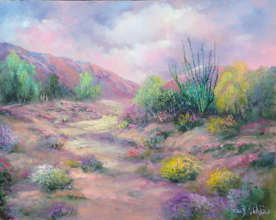 Fauna Painting - Painted Desert by Sally Seago