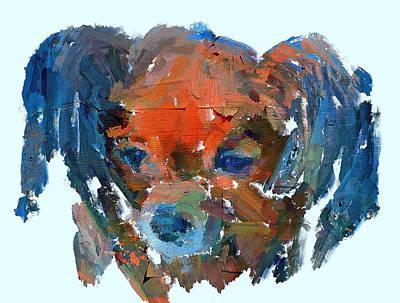 House Pet Digital Art - Painted Dog by Yury Malkov