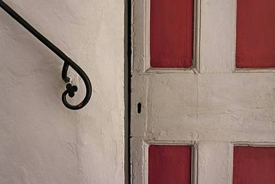 Photograph - Painted Door And Railing by Patricia Strand