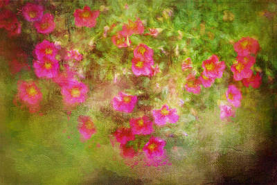 Painting - Painted Flowers by Christina VanGinkel