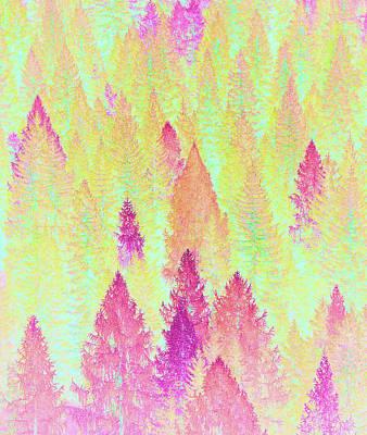 Digital Art - Painted Forest by Uma Gokhale