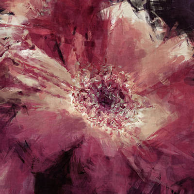 Photograph - Painted Gerber Daisy by HH Photography of Florida