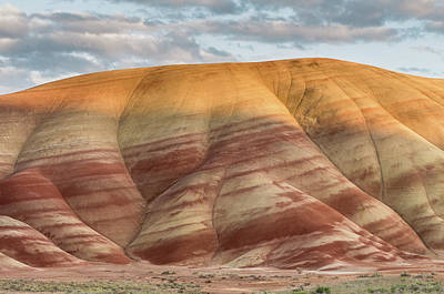 Photograph - Painted Hill At Last Light by Greg Nyquist