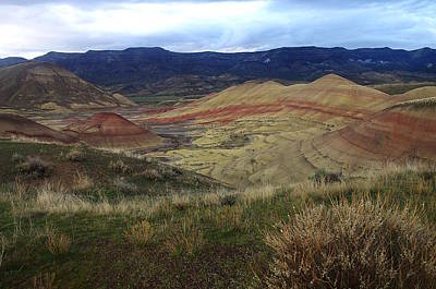 Photograph - Painted Hills 1 by Ken Dietz