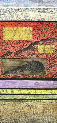 Mixed Media - Painted Hills 2 by Cyndi Lavin