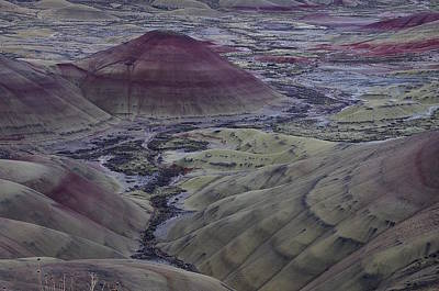 Painted Hills 2 Art Print