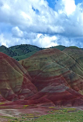 Photograph - Painted Hills 3 by Dale Stillman