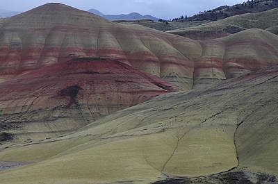 Photograph - Painted Hills 3 by Ken Dietz