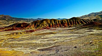 Photograph - Painted Hills Of Oregon by Michael Cinnamond