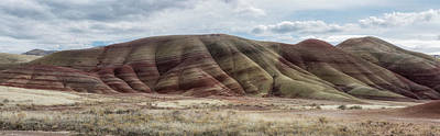 Photograph - Painted Hills Pano. No. 2 by Belinda Greb