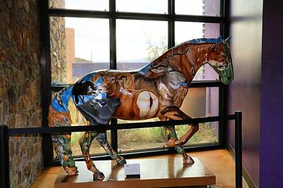 Photograph - Painted Horse by Kathryn Meyer