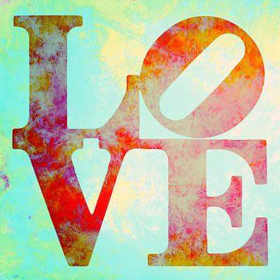 Brandi Fitzgerald Mixed Media - Painted In Love V2 by Brandi Fitzgerald
