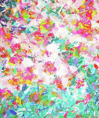 Digital Art - Painted Joy by Uma Gokhale