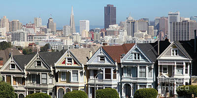 Photograph - Painted Ladies Of Alamo Square San Francisco California 5d27996 Panoramic by San Francisco