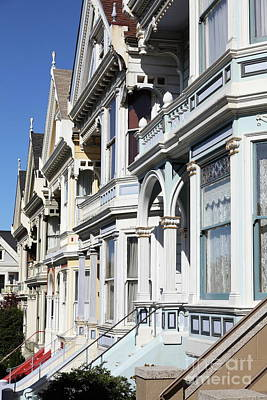 Photograph - Painted Ladies Of Alamo Square San Francisco California 5d28021 by San Francisco Art and Photography