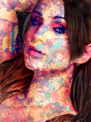 Painting - Painted Lady by Mark Taylor