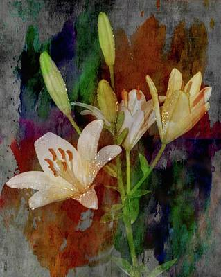 Photograph - Painted Lilies by Sheri McLeroy
