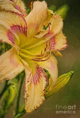 Stamen Painting - Painted Lilly by Deborah Benoit
