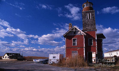 Photograph - Painted Mispillion Lighthouse, De by Skip Willits