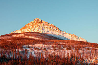 Photograph - Painted Mountain Orange by Todd Klassy
