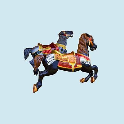 Photograph - Painted Ponies by John Haldane