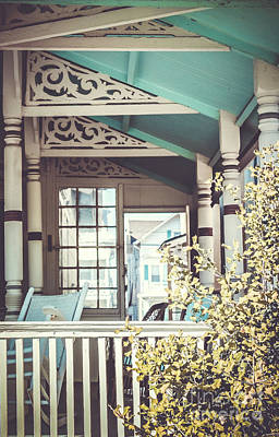 Photograph - Painted Porch by Colleen Kammerer