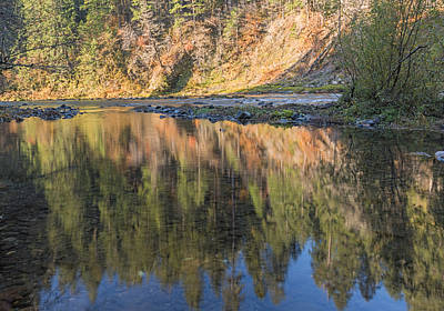 Photograph - Painted River by Loree Johnson