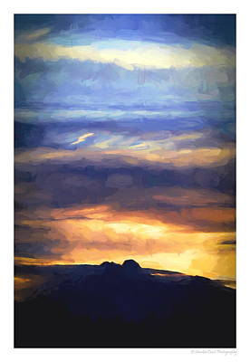 Painting - Painted Rockies by Christopher Wieck