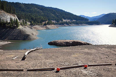 Photograph - Painted Rocks Reservoir In Bitterroot Valley, Montana by Tatiana Travelways