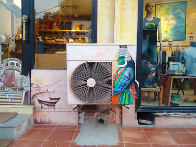 Photograph - Painted Shop by Sumit Mehndiratta