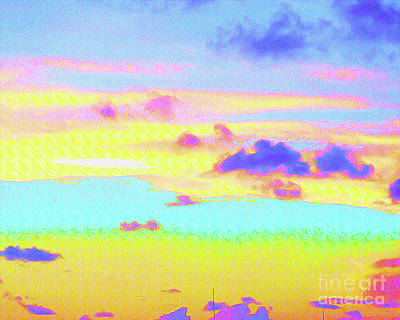 Surf Lifestyle Mixed Media - Painted Skies by Chris Andruskiewicz