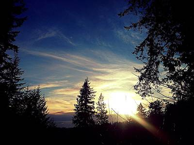 Photograph - Painted Skies by Lauren Williamson