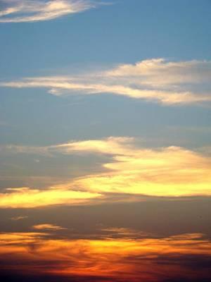 Painted Sky Art Print by Ana Villaronga