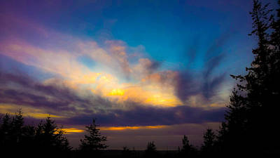 Photograph - Painted Sky by Pacific Northwest Imagery