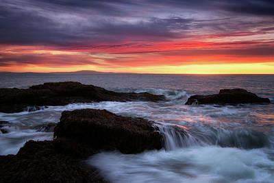 Photograph - Painted Sky by Darylann Leonard Photography