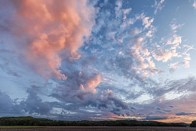 Photograph - Painted Sky by Scott Bean