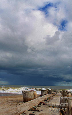 Photograph - Painted Storms A Brewing by Skip Willits