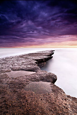Photograph - Painted Sunset by Jorge Maia