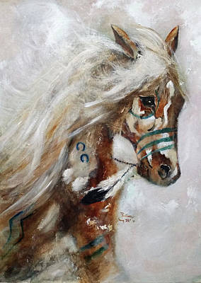 Painting - Painted Thunder Snow by Barbie Batson