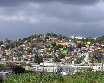 Photograph - Painted Village by Adam Johnson