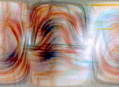 Coy Fish Michael Creese Paintings - Painted Windows by Linda Sannuti