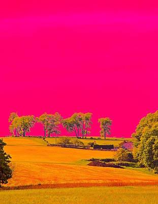 Photograph - Painter Ridge by Gillis Cone