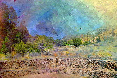 Photograph - Painterly Bandelier by Diana Angstadt