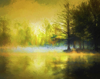 Photograph - Painterly Early Morning by James Barber